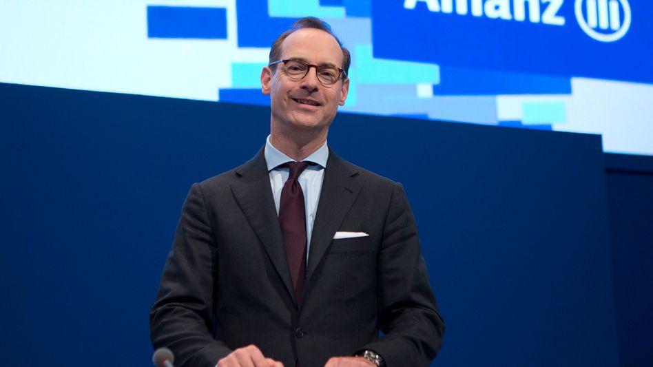 Das freundliche Lächeln sollte nicht täuschen: Allianz-Chef Oliver Bäte verlangt vom Lebensversicherungsgeschäft in jedem Land künftig mindestens 10 Prozent Eigenkapitalrendite. Sonst hätte es im Konzern künftig keinen Platz mehr