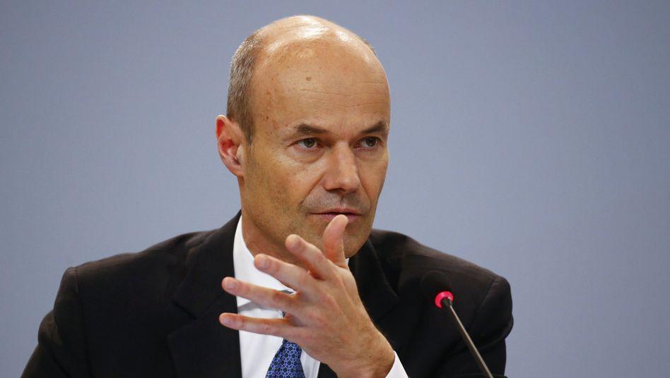 Nicht reif für die Fusion: Deutsche-Bank-Vorstand Marcus Schenck