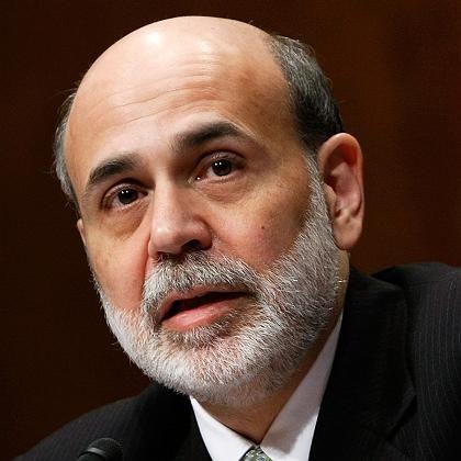 Notenbankchef Bernanke: Bis vor kurzem noch unangefochtener Spitzenmann