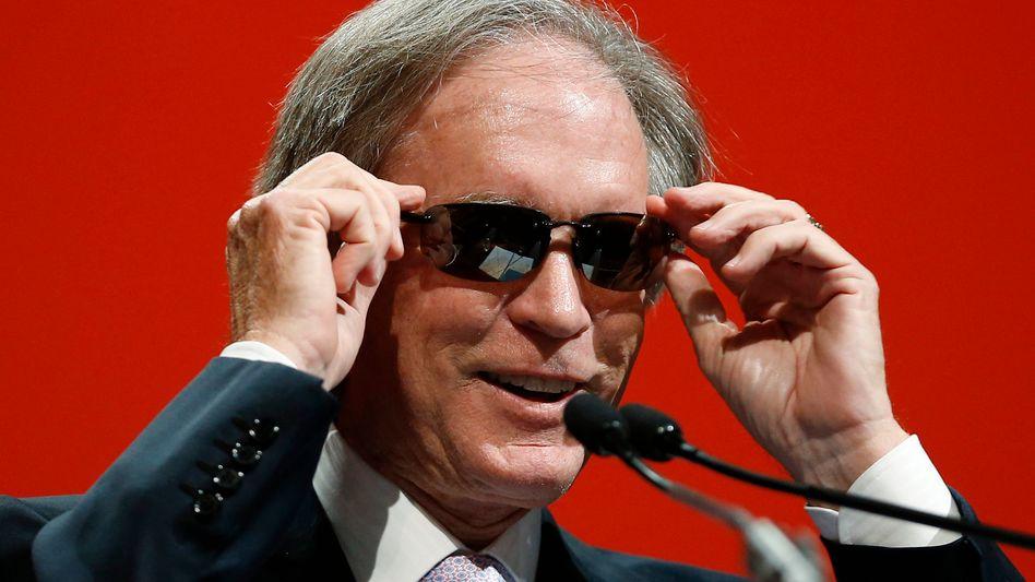 Exzentrischer Starinvestor: Bill Gross fängt heute bei Janus an