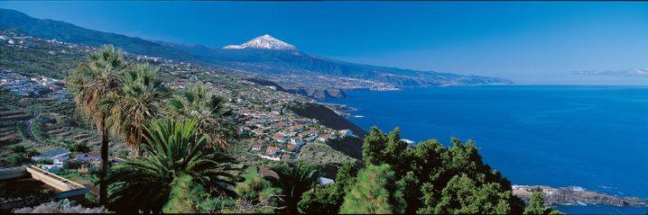Über allem thront der Teide: Der höchste Berg Spaniens überragt Teneriffa.