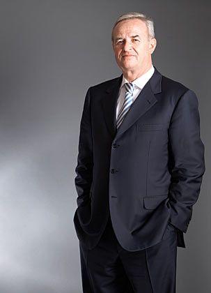 Platz 23: Martin Winterkon (Vorstandschef VW) Liebt den Fußball nicht weniger als Autos.