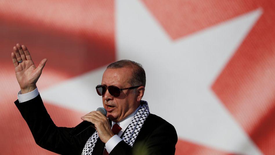 Problem mit der Lira: Der türkische Präsident Recep Tayyip Erdogan