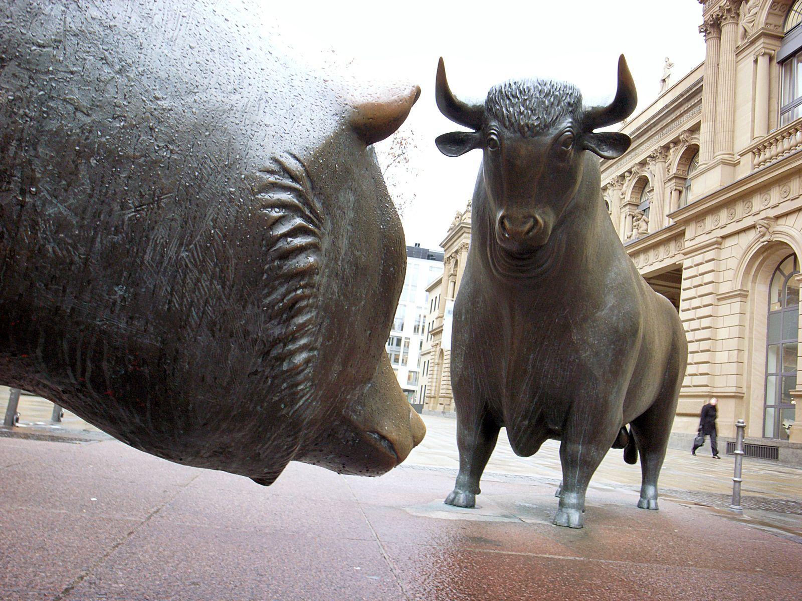 Börse / Bär / Bulle