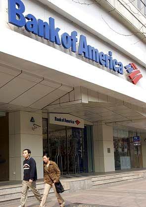 Bilanzzahlen weit über dem Durchschnitt: Bank of America (im Bild die Filiale in Shanghai)