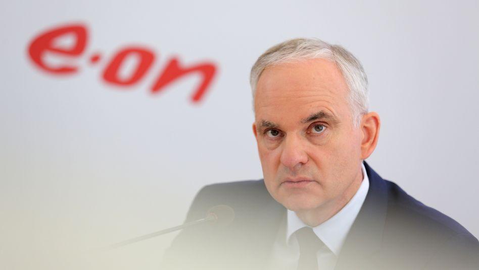 """Eon-Chef Johannes Teyssen: """"Wir sind optimistisch, dass wir ohne betriebsbedingte Kündigungen auskommen"""""""