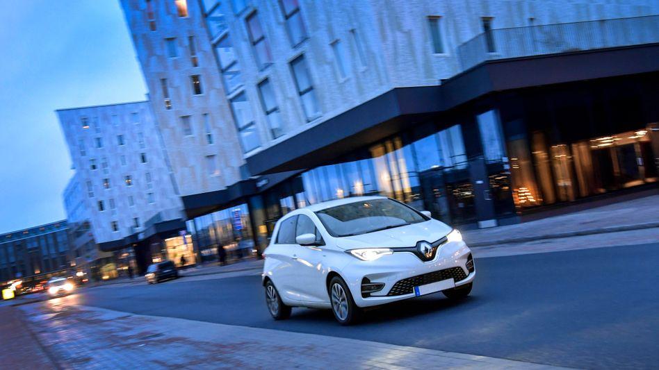 Renaults Elektro-Kleinwagen Zoe ist aktuell das meistzugelassene E-Auto in Deutschland