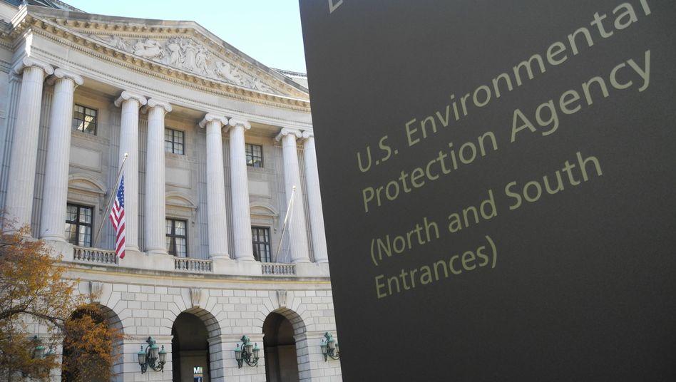 Unnachgiebig: Zentrale der US-Umweltbehörde EPA in Washington