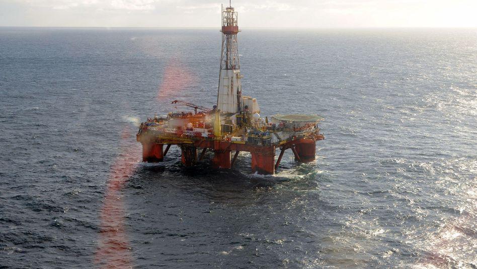 Offshore-Förderung: Statoil-Plattform in der Nordsee