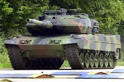 In Ungnade gefallen: KMW-Produkt Leopard 2