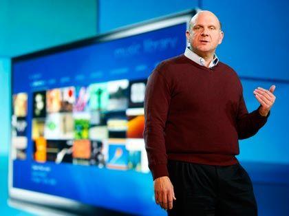 Windows 7: Ballmer präsentiert das Betriebssystem auf der CES