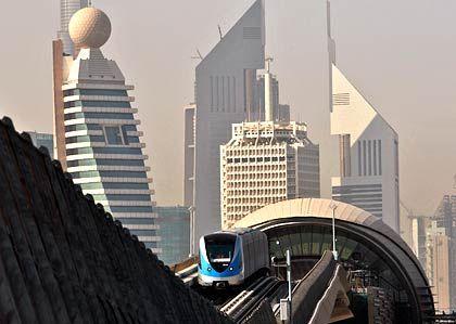 """Abwärtstrend: In Dubai sieht man sich angesichts immer neuer Hiobsbotschaften als Opfer einer """"ungerechten Kampagne"""""""