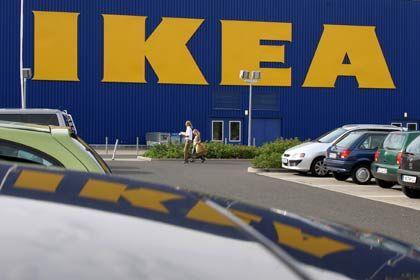In Rastatt verboten: Ikea-Filiale in Hofheim-Wallau