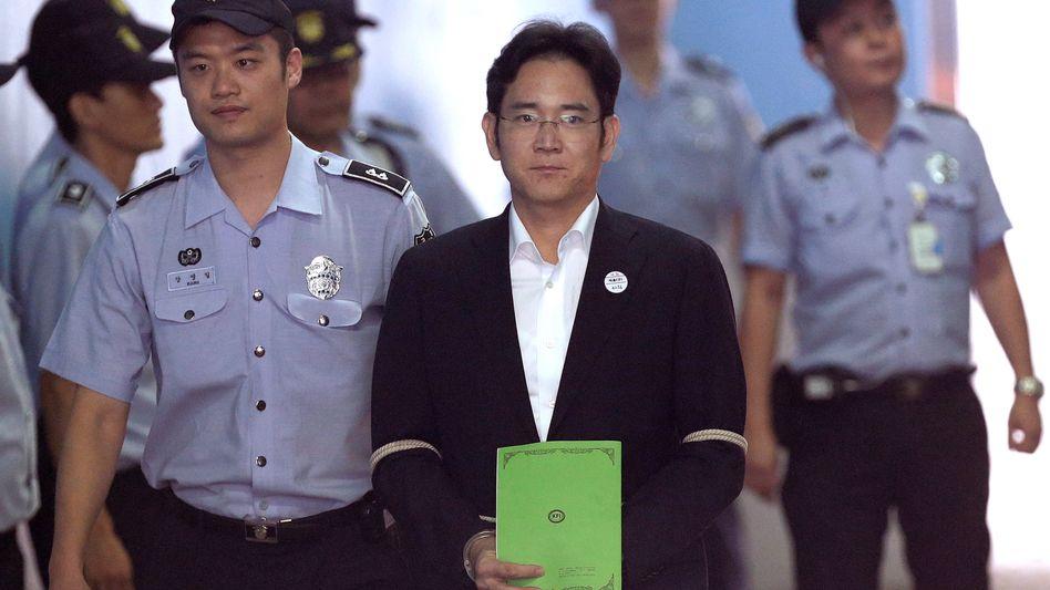 Hat wegen eines anderen Vergehens bereits ein knappes Jahr in Haft verbracht: Lee Jae-yong (Archivaufnahme, 2017)