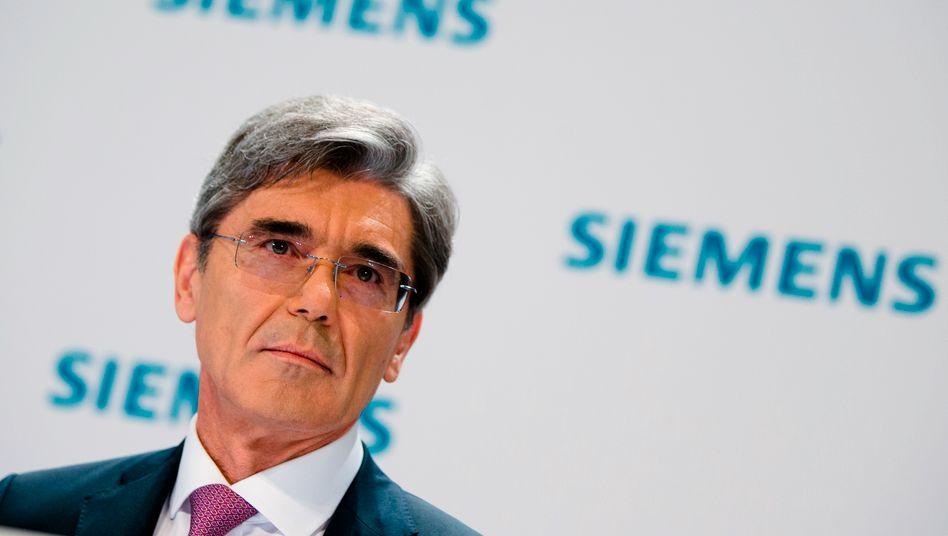 Siemens-Chef Joe Kaeser: Er gewann die Bieterschlacht um den Öl-Industrie-Ausrüster Dresser-Rand gegen Sulzer. Sulzer-Verwaltungsratspräsident Peter Löscher, Kaesers Vorgänger, spielte in dem Wettpoker eine fragwürdige Rolle