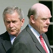 """Früh gewarnt"": George W. Bush, John Snow"