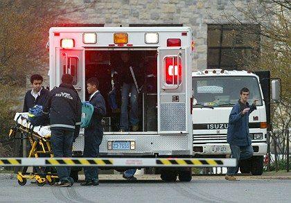 Nach der Schießerei: Die großen Sender bekamen die rasante Entwicklung der Tragödie kaum in den Griff