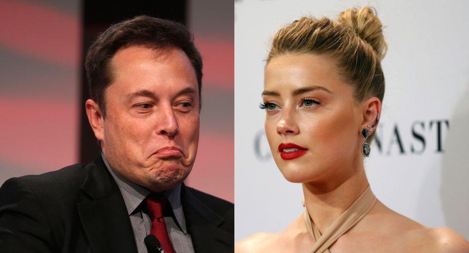 Amber Heard: Die Beziehung zu Tesla-Milliardär Elon Musk währte nur rund ein Jahr