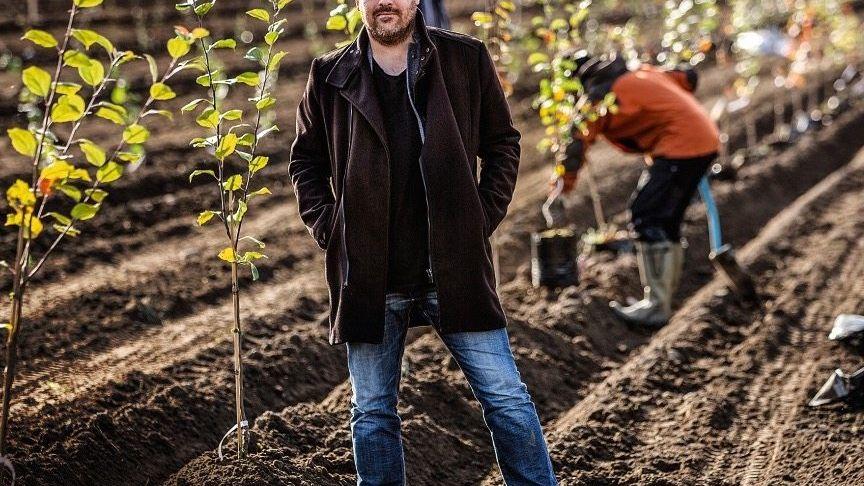 FELDFORSCHER Der Norweger Andreas Sundgren Graniti hat festgestellt, dass man Eiswein auch aus Äpfeln machen kann