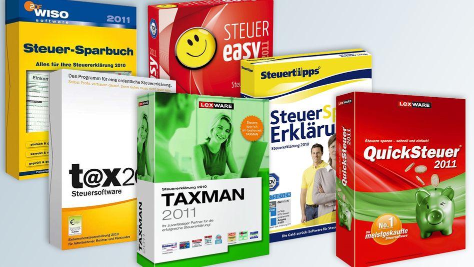 Ein Dschungel von Helferchen: PC-Programme für die Steuererklärung von 2010
