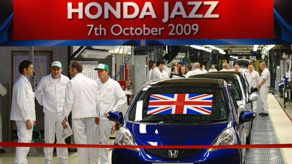 Honda-Fabrik im britischen Swindon: Honda ist schon lange fester Bestandteil der britischen Autoindustrie. Hier läuft jedes zehnte in Großbritannien produzierte Auto vom Band