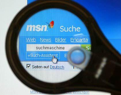"""Google-Konkurrent: """"MSN Suche"""" von Microsoft"""