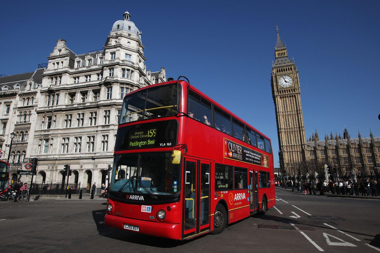 London Doppeldeckerbus