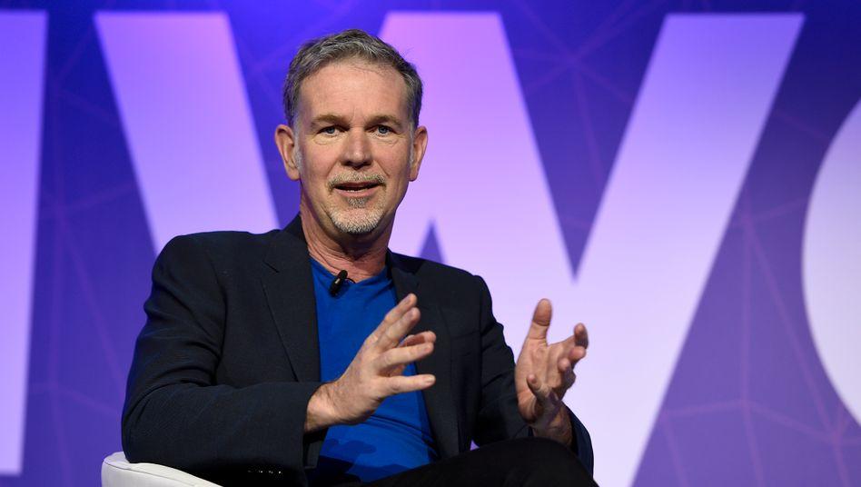 Netflix-Chef Reed Hastings enttäuscht die verwöhnten Investoren, Netflix wächst langsamer als erwartet