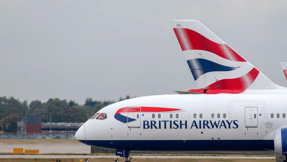 Flugzeug von BA: Britische Airlines wehren sich juristisch gegen Quarantäne-Auflagen der Regierung