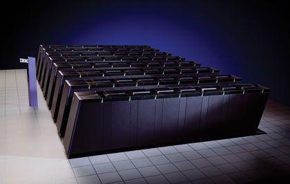 """Supercomputer von IBM: Der """"Blue Gene"""" ist einer der schnellsten Rechner der Welt"""