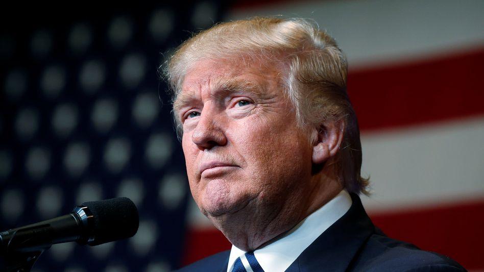Donald Trump, exakt eine Woche vor der Wahl.