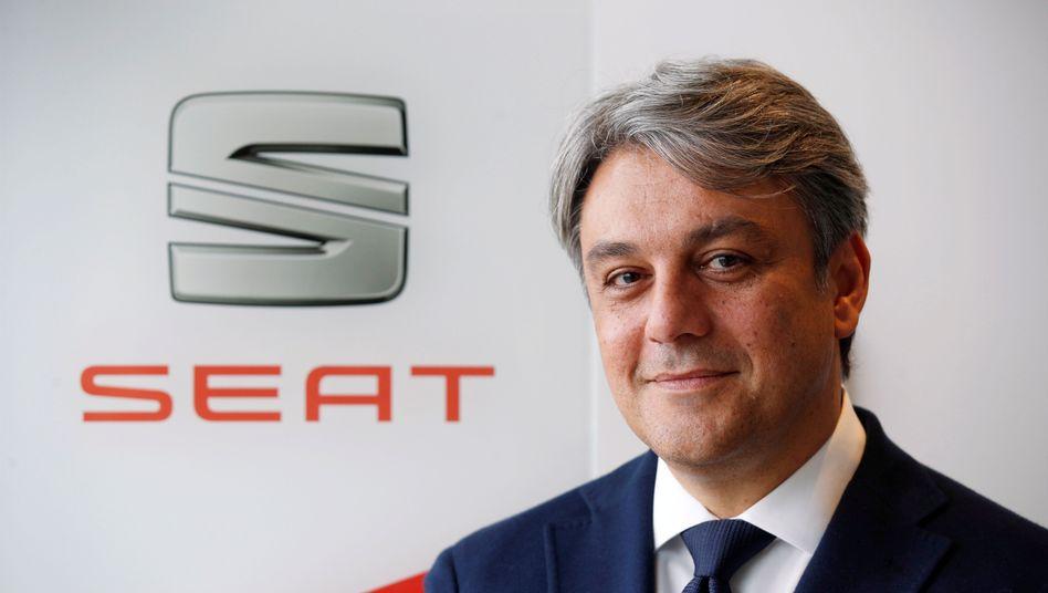Abschied von Seat: Luca de Meo wird als möglicher neuer Chef von Renault gehandelt