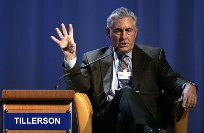 Bleibt lieber bei Öl: Exxon-Chef Tillerson