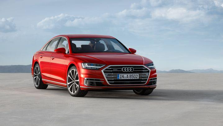 Neuauflage von Audis Luxuslimousine A8: Audis neuer A8 soll Mercedes und BMW alt aussehen lassen