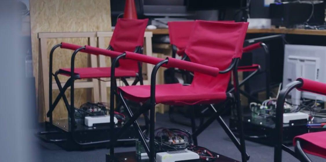 NUR ALS ZITAT Nissan Auto Chair