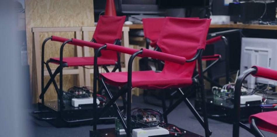 Bitte Platz nehmen: Drängeln ist mit dem Propilot Chair nicht möglich