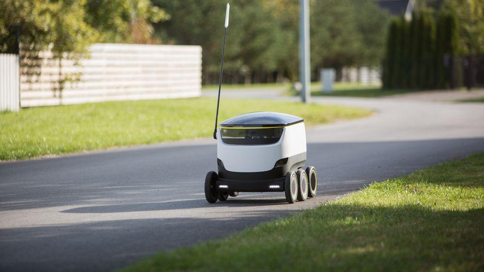 Starship-Roboter: Drohnen-Alternative auf sechs Rädern