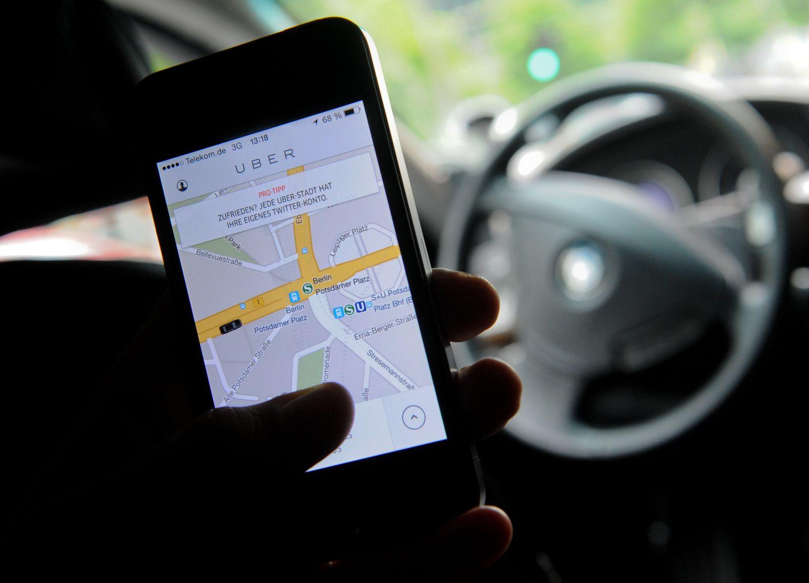 Fahrdienst-App Uber