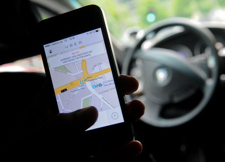 Umstrittene Mitfahrplattform Uber: Bezos steckt sein Geld in viele verschiedene Unternehmensideen