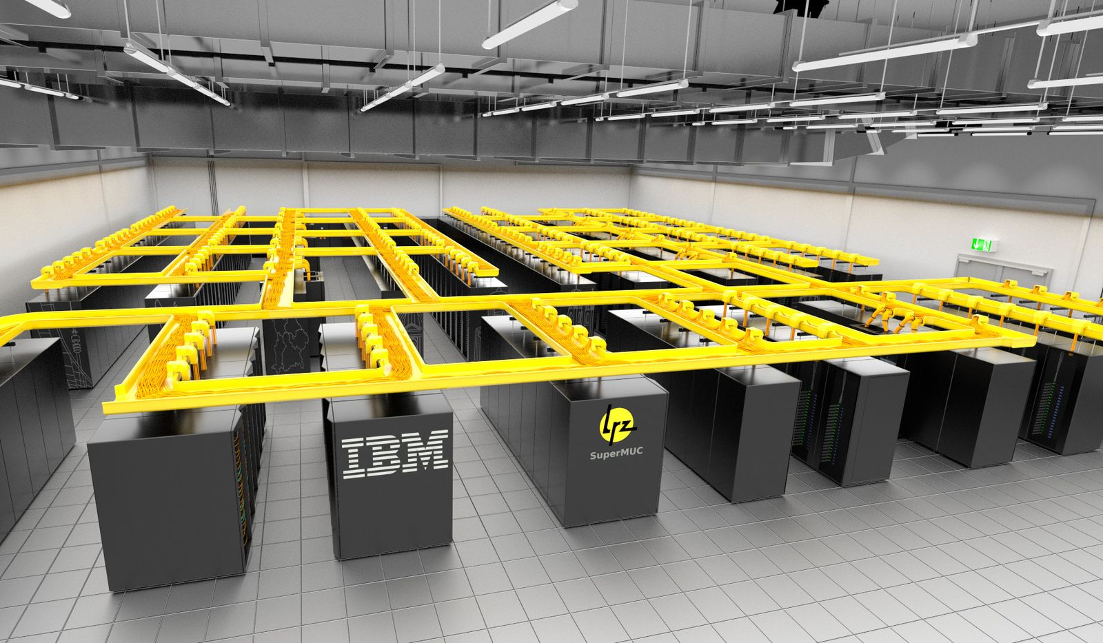 Supercomputer / SuperMUC