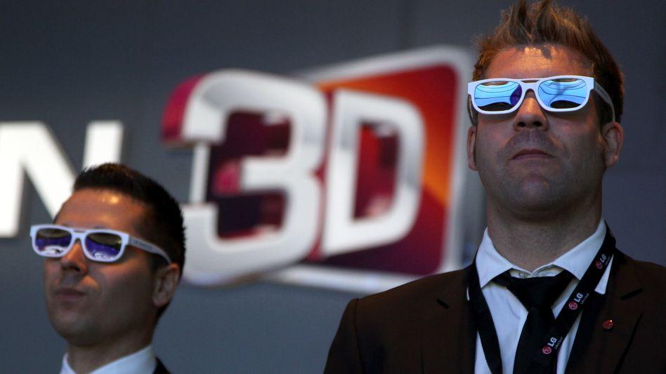 3D-Vorführung: Die IFA zeigt bis zum 7. September Neues aus der Unterhaltungselektronik