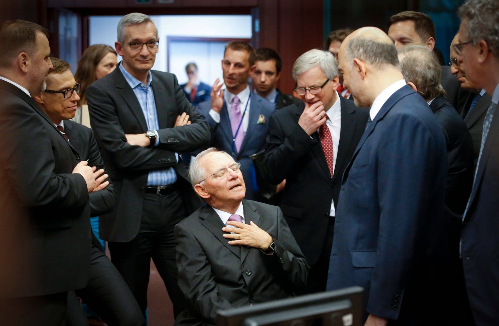 Finanzministertreffen/ Wolfgang Schaeuble