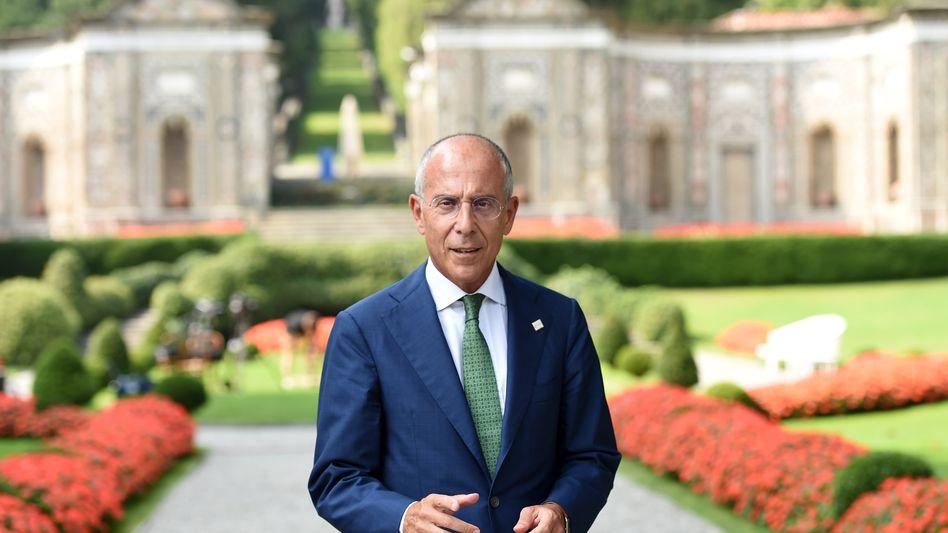 Imperator: Der Italiener Franceso Starace führt das größte Unternehmen seines Landes.