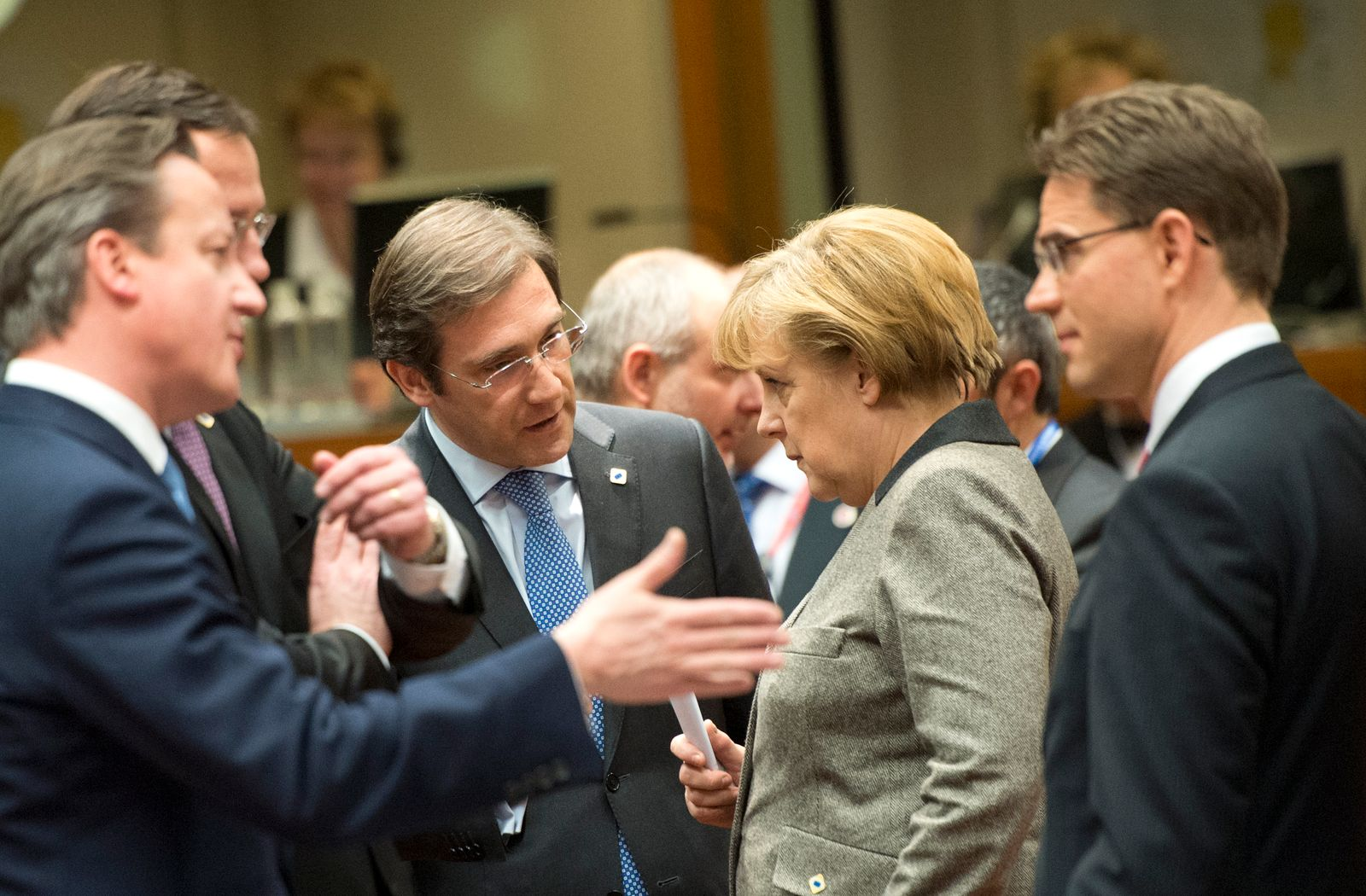 Merkel Cameron nachdenklich