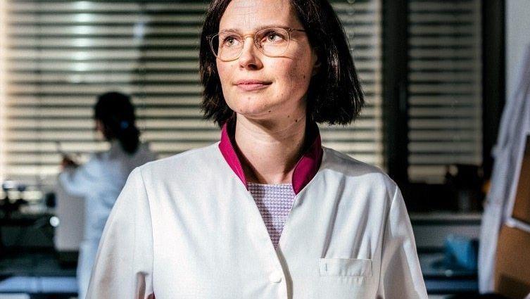 Katalysatorin: Ulrike Kramm an ihrem Arbeitsplatz an der TU Darmstadt. Jetzt wurde sie mit dem Curious Minds Award ausgezeichnet.