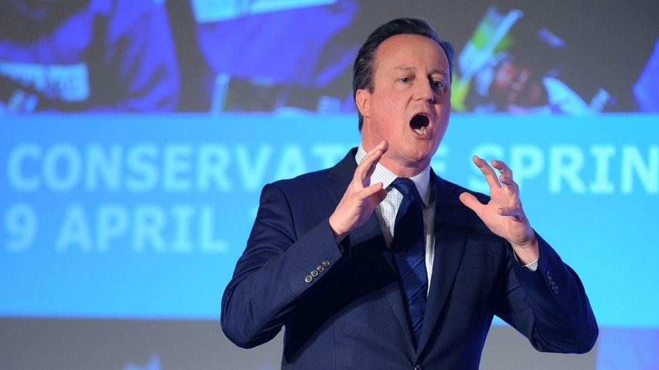 Erfolgreich als Politiker und Geldanleger: Großbritanniens Premier David Cameron