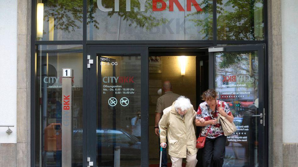 Filiale der City BKK: Kassen versprechen Versicherte der Organisation aufzunehmen