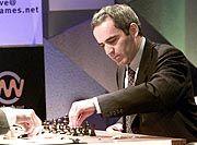 Auf dem Rückzug: Garri Kasparow