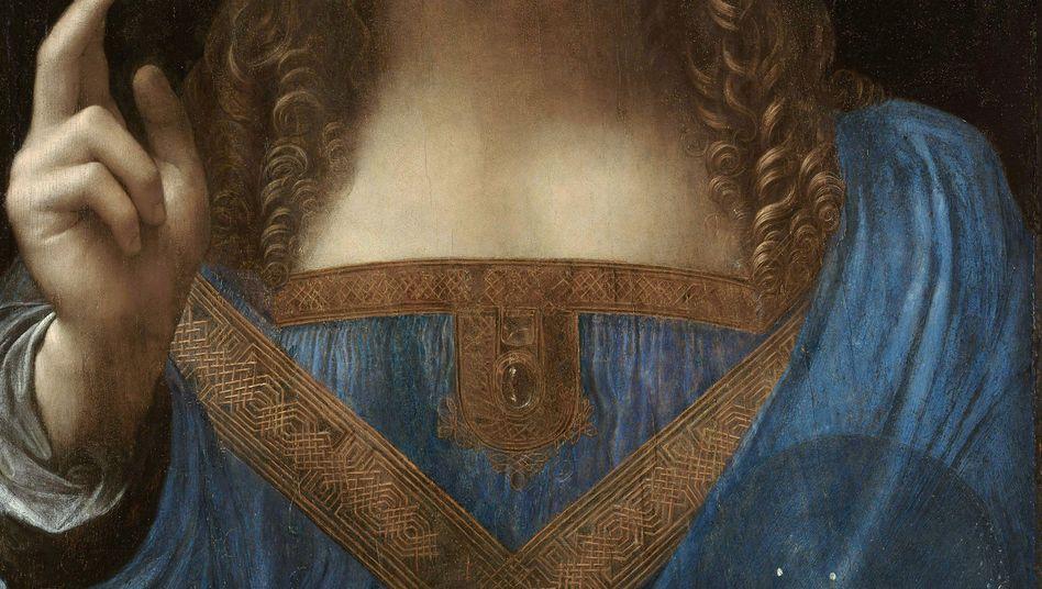"""Salvator mundi: Das Jesus-Gemälde, das Leonardo da Vinci zugeschrieben wird, soll sich auf der Luxusjacht """"Serene"""" des saudischen Kronprinzen bin Salman befinden"""