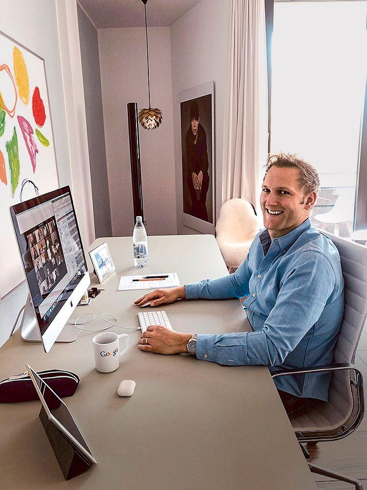 Wohnzimmerinvestor: Cherry Ventures-Partner Christian Meermann.
